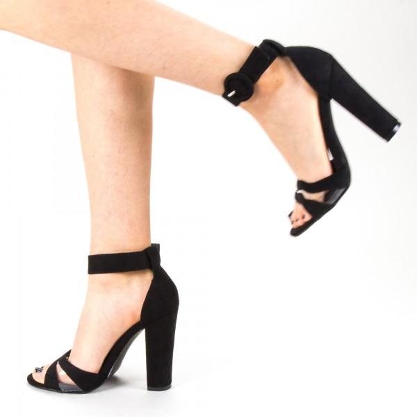 Sandale Dama cu Toc GE30 Black Mei