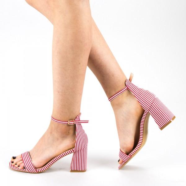 Sandale Dama cu Toc WH15 Red Mei