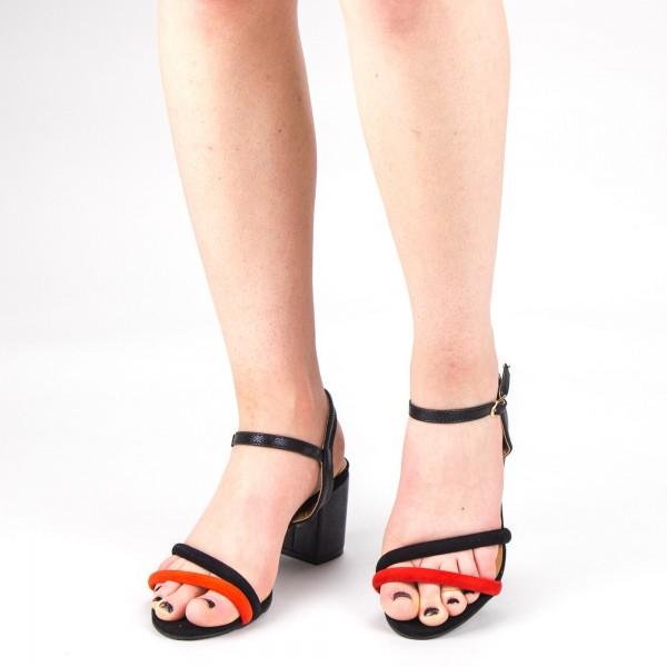 Sandale Dama cu Toc CS53 Red Mei