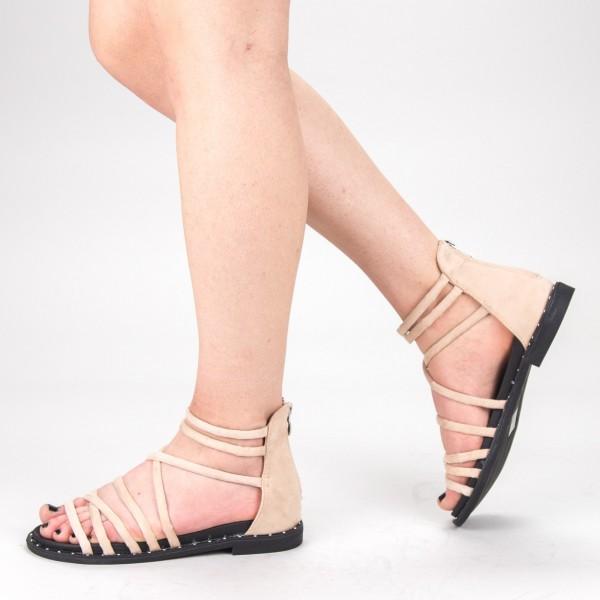 Sandale Dama cu Toc QZL231 Pink Mei
