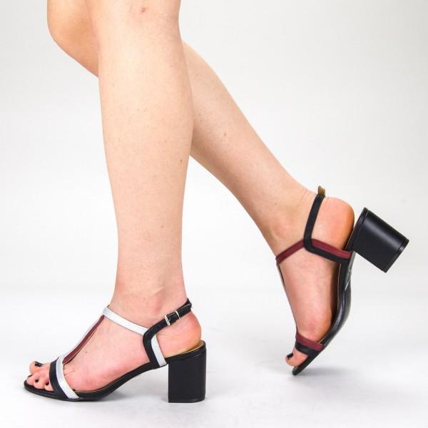 Sandale Dama cu Toc CS55 Black Mei