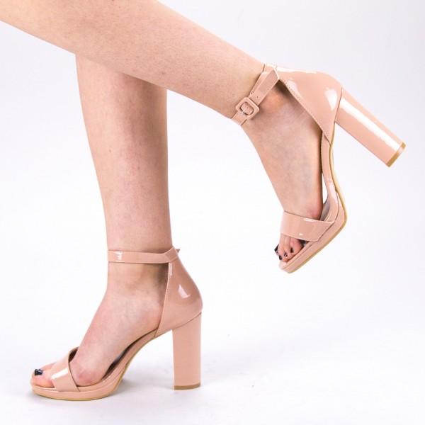 Sandale Dama cu Toc WT68 SD Pink Mei