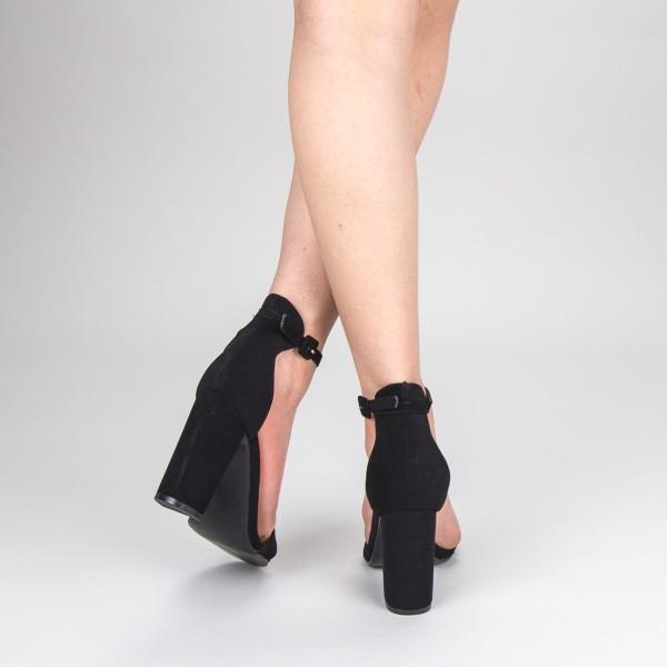 Sandale Dama cu Toc GE29 Black Mei