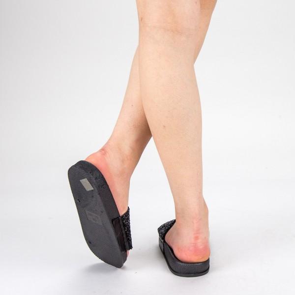 Papuci Dama TG8 Black Mei