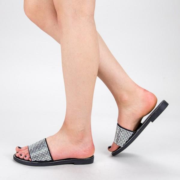 Papuci Dama TG13 Silver Mei