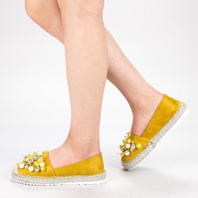 Pantofi Casual Dama L626 Yellow Sweet Shoes