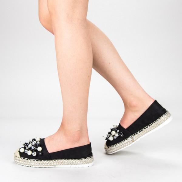 Pantofi Casual Dama L626 Black Sweet Shoes