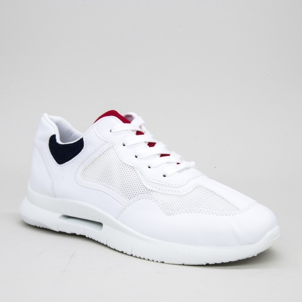 Pantofi Sport Barbati B04 White Dcf68