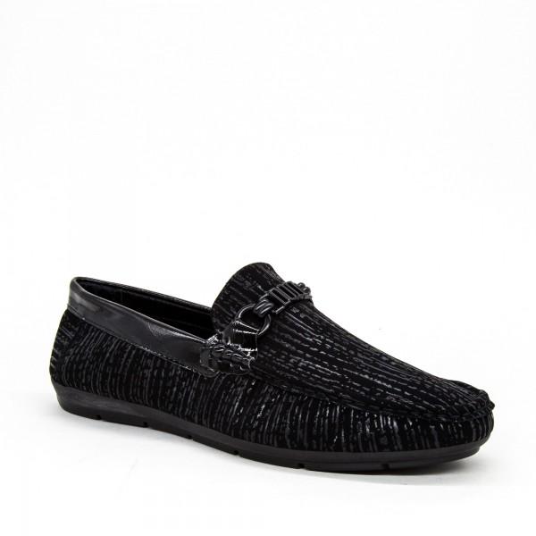 Pantofi Barbati 8251 Black Mdeng
