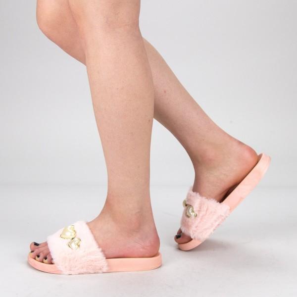 Papuci Dama 806 PP Pink Fashion