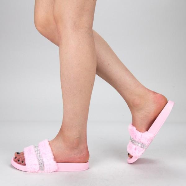 Papuci Dama 1286-2 Pink Fashion