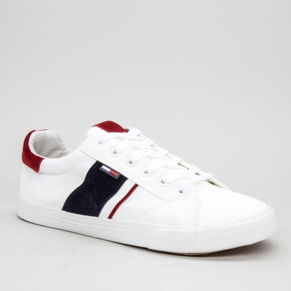 Pantofi Sport Barbati 1802 White Sport Fashion
