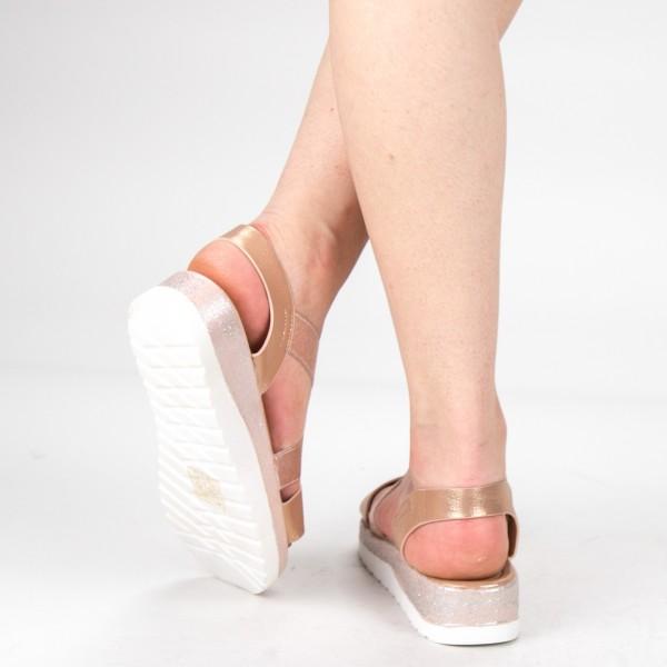 Sandale Dama WS132 Champagne Mei