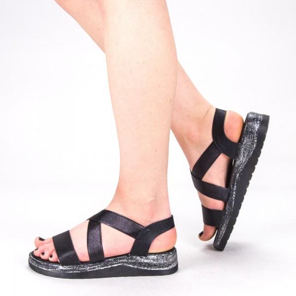 Sandale Dama WS132 Black Mei