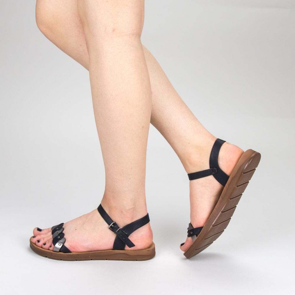 Sandale Dama WS102 Black Mei