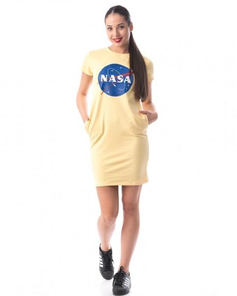 Rochie Dama 8121 NASA Galben Adrom