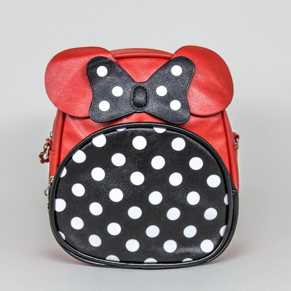 Rucsac Dama S181 RXC Red-Black Fashion