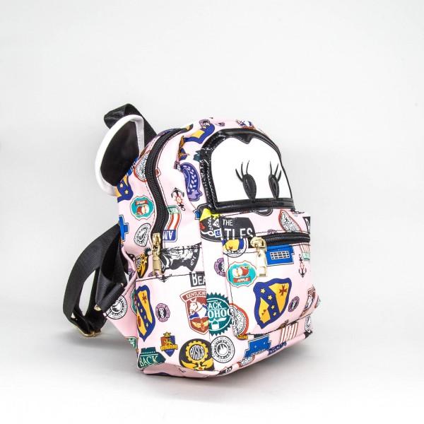 Rucsac Copii S188 BEATLES RXC Pink Fashion