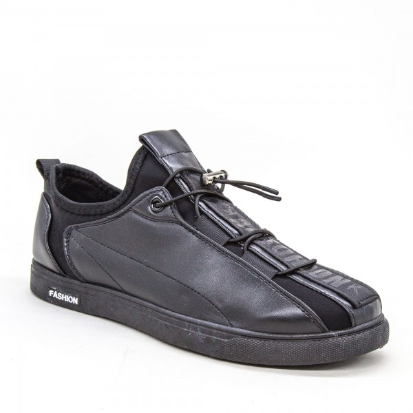 Tenisi Barbati 1802 TB Black Sport Fashion