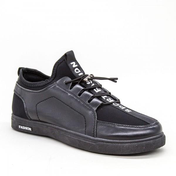 Tenisi Barbati 1811 TB Black Sport Fashion