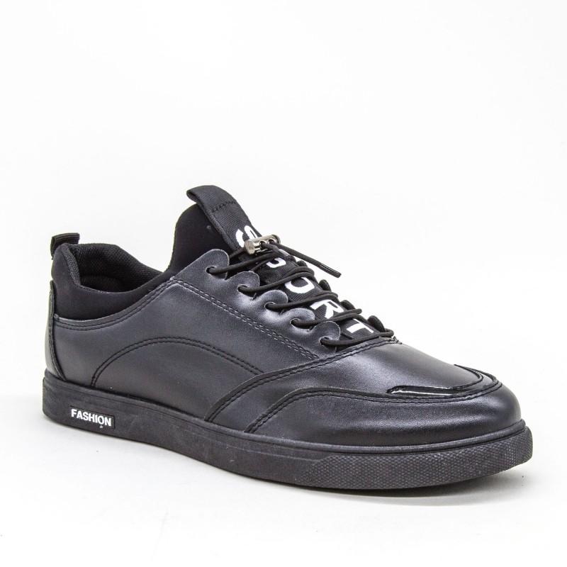 Tenisi Barbati 1803 TB Black Sport Fashion
