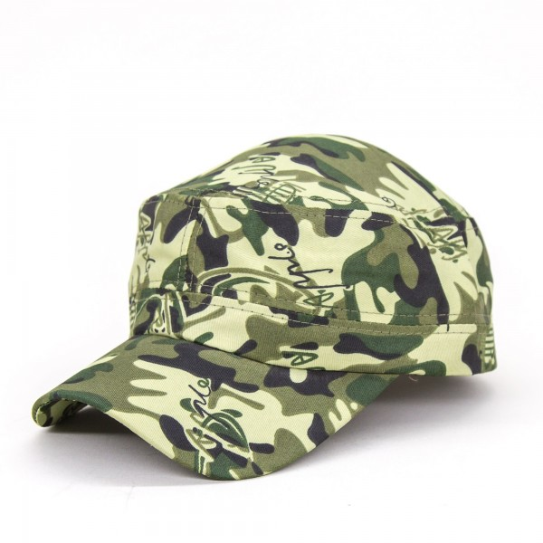 Sapca Barbati S2-16 CAMO Army Lightgreen Fashion