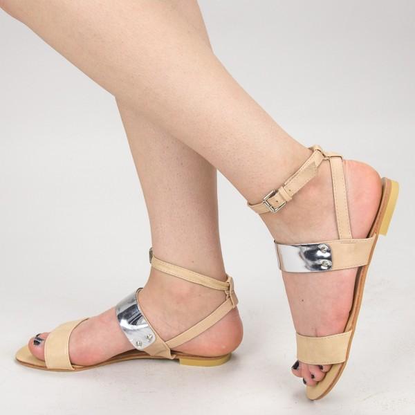Sandale Dama OL2341 Beige Mei