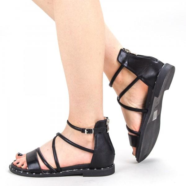 Sandale Dama QZL229 Black Mei