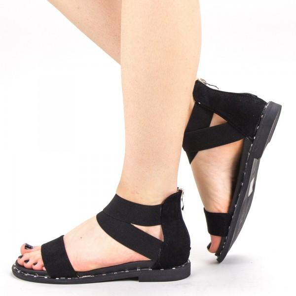 Sandale Dama QZL230 Black Mei