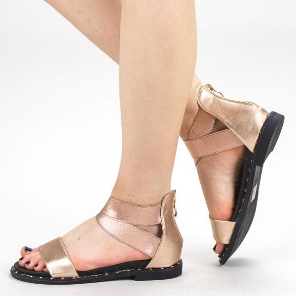 Sandale Dama QZL230 Champagne Mei