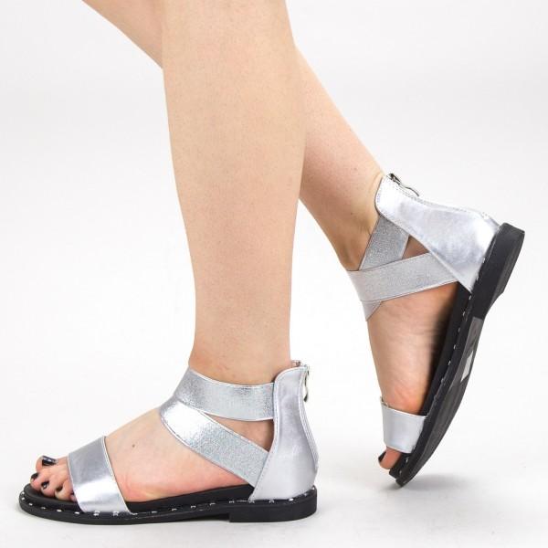 Sandale Dama QZL230 Silver Mei