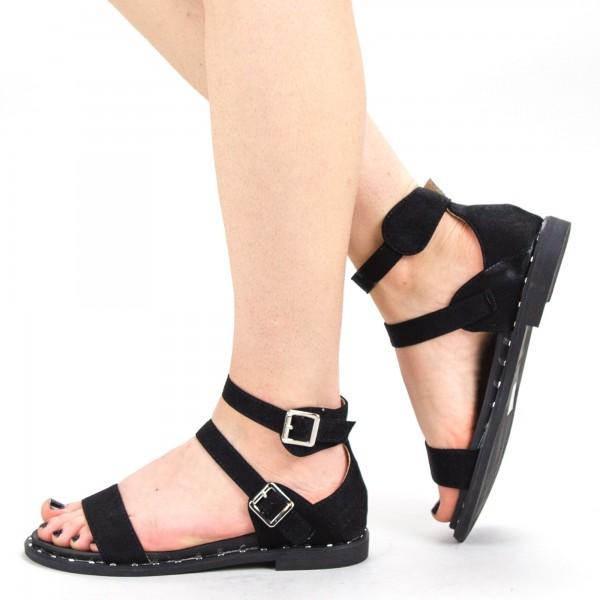 Sandale Dama QZL232 Black Mei