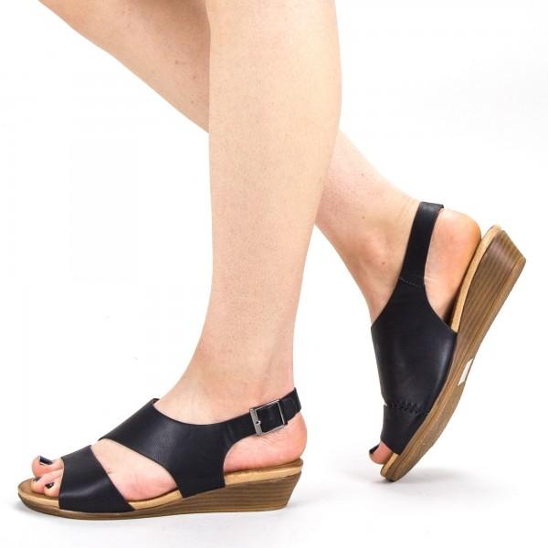 Sandale Dama FD52 Black Mei