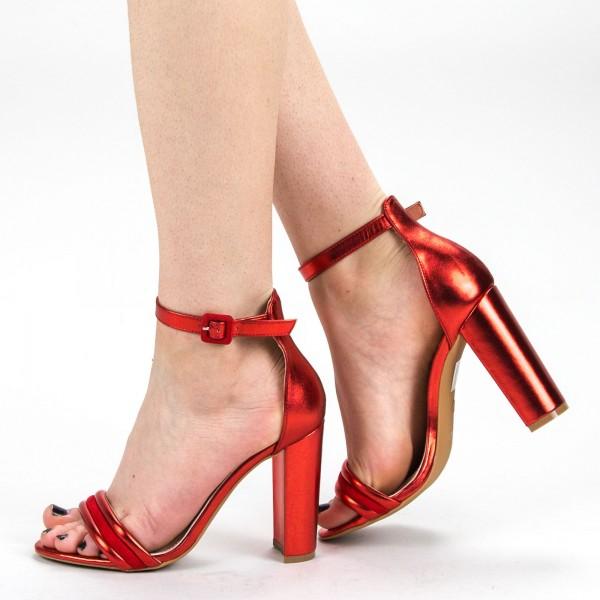Sandale Dama cu Toc KV22 Red Mei