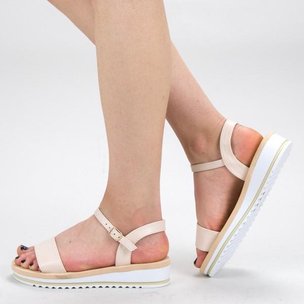 Sandale Dama WS151 Beige Mei