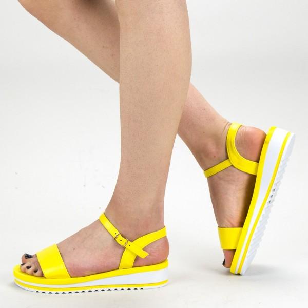 Sandale Dama WS151 Yellow Mei
