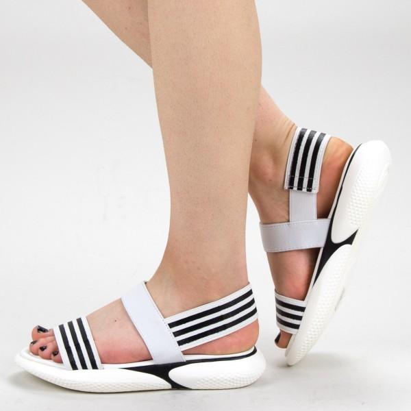 Sandale Dama WS156 White Mei