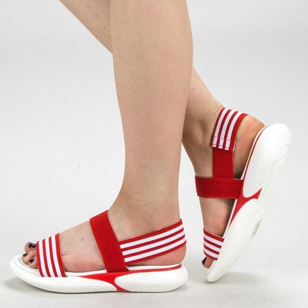Sandale Dama WS156 Red Mei