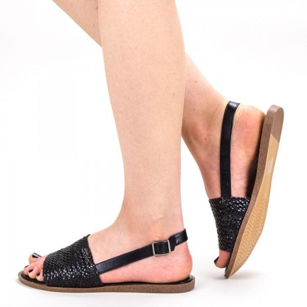 Sandale Dama GZXY8 Black Mei