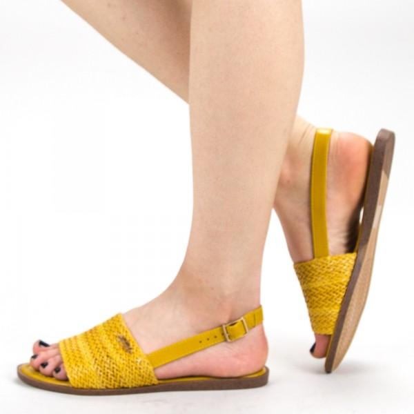 Sandale Dama GZXY8 Yellow Mei