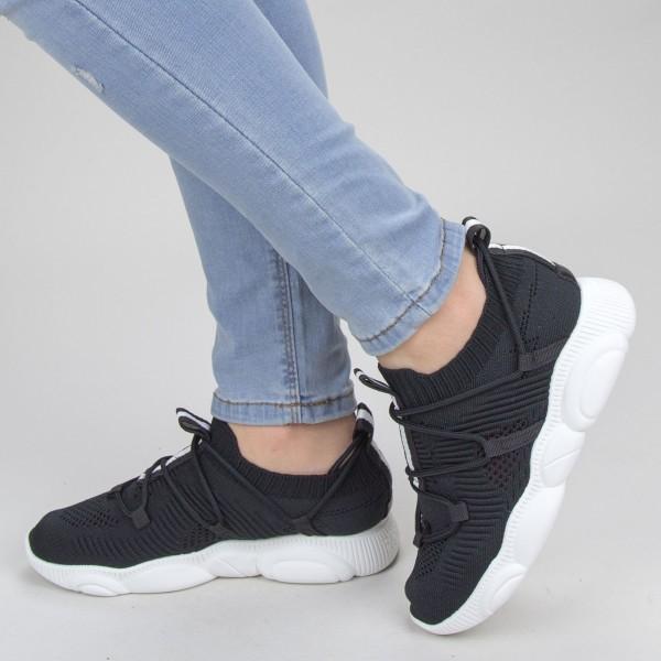 Pantofi Sport Dama YQ50 Black-white Mei