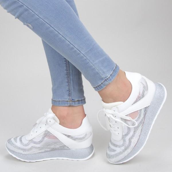 Pantofi Sport Dama SZ201 White Mei