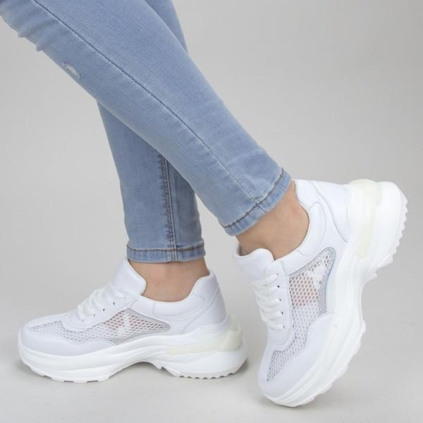 Pantofi Sport Dama SZ205 White Mei