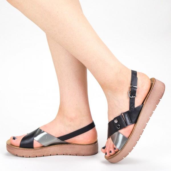 Sandale Dama CS27 Black Mei