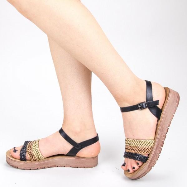 Sandale Dama CS28 Black Mei