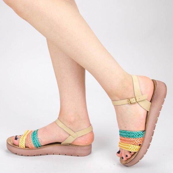 Sandale Dama CS28 Beige Mei