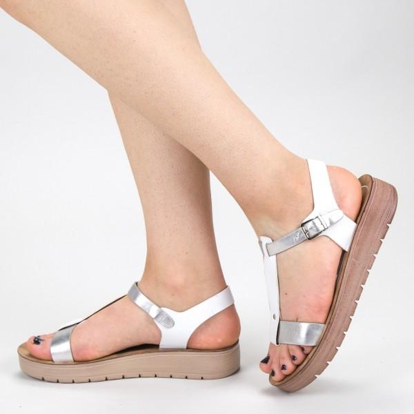 Sandale Dama CS31 Silver Mei