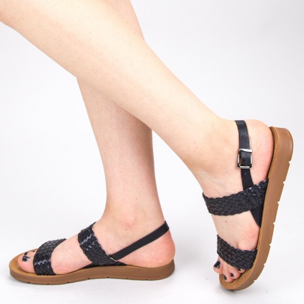 Sandale Dama CS37 Black Mei