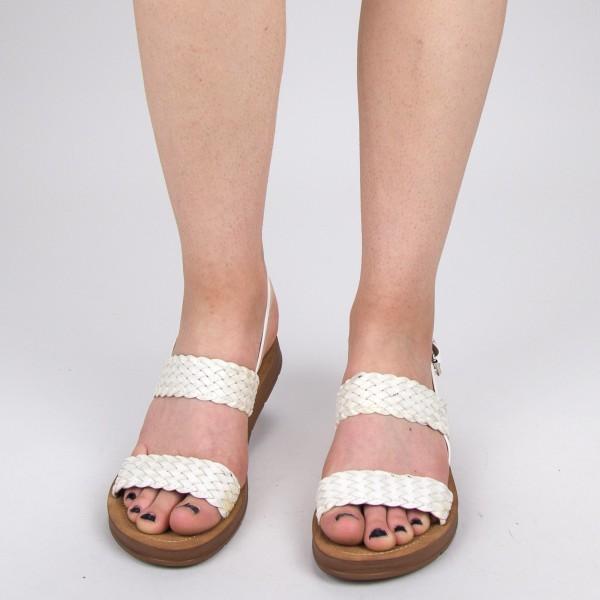 Sandale Dama CS37 White Mei