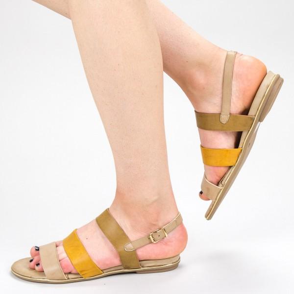Sandale Dama CS39 Beige Mei